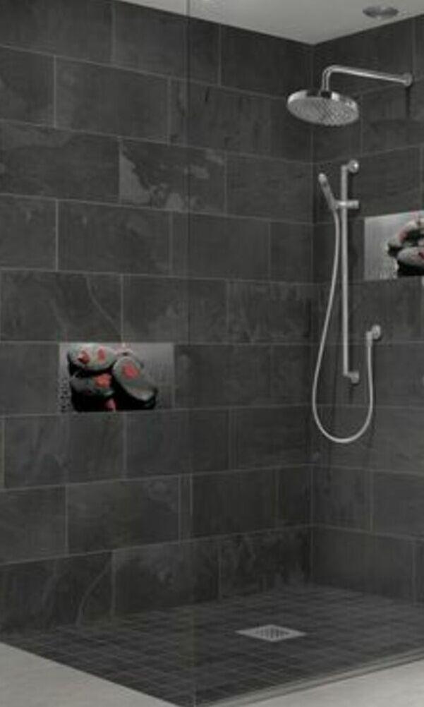 Carrelage effet pierre pour salle de bains | Charmes Céramique
